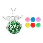 Locket Necklace of Aromatherapy Angel