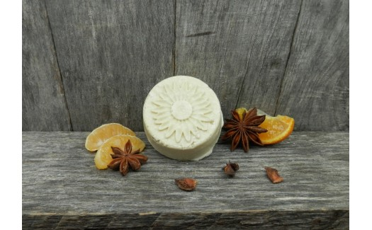Combo Orange Anise Solid Shampoo and Natural Solid Conditioner