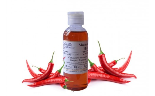 Cayenne Chili pepper Herbal Oil (Capsicum annuum)