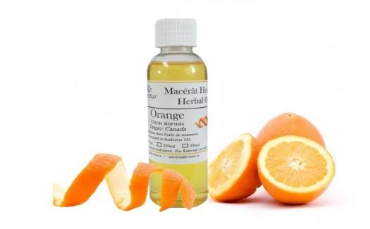 Orange Herbal Oil (Citrus sinensis)
