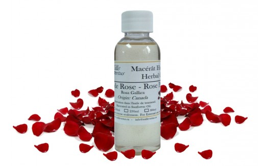 Rose Herbal Oil (Rosa gallica)
