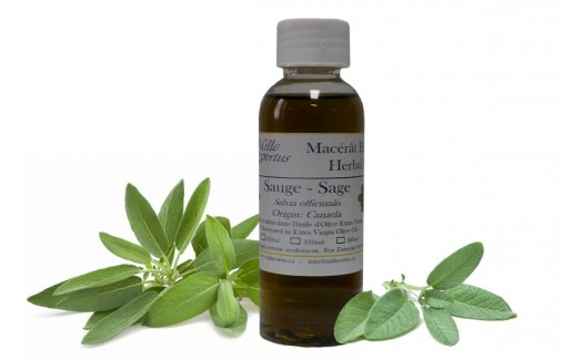Sage herbal Oil (Abies balsamea) Macerated