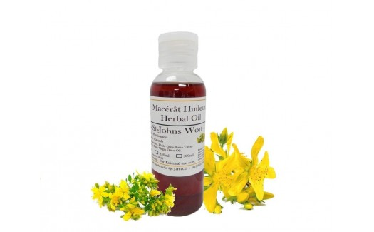 St Johns Wort Herbal Oil (Hypericum perforatum)