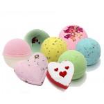 Trousse Fabrication Bombes de Bain Naturelles Coeur Valentine
